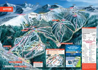 Keystone Resort map