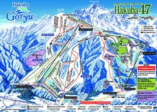 Hakuba 47 & Goryu map