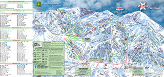 Alta Ski Resort map