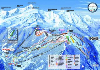 Chamonix Mont-Blanc trail map