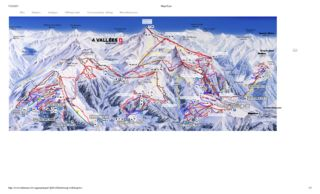 Verbier trail map