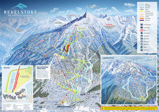 Revelstoke Mountain Resort trail map