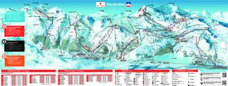 Val d'Isère trail map
