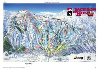 Jackson Hole trail map