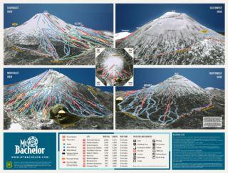 Mount Bachelor map