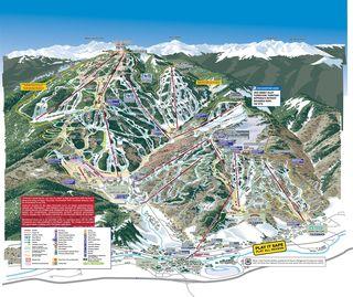 Beaver Creek trail map