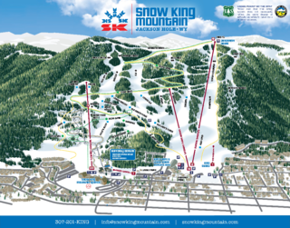 Snow King Resort trail map