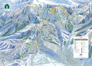 Deer Valley Resort map