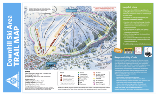 Tahoe Donner trail map