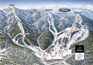 Bear Mountain map