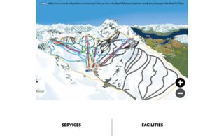 Remarkables trail map