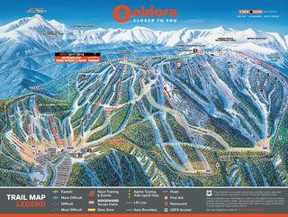 Eldora trail map